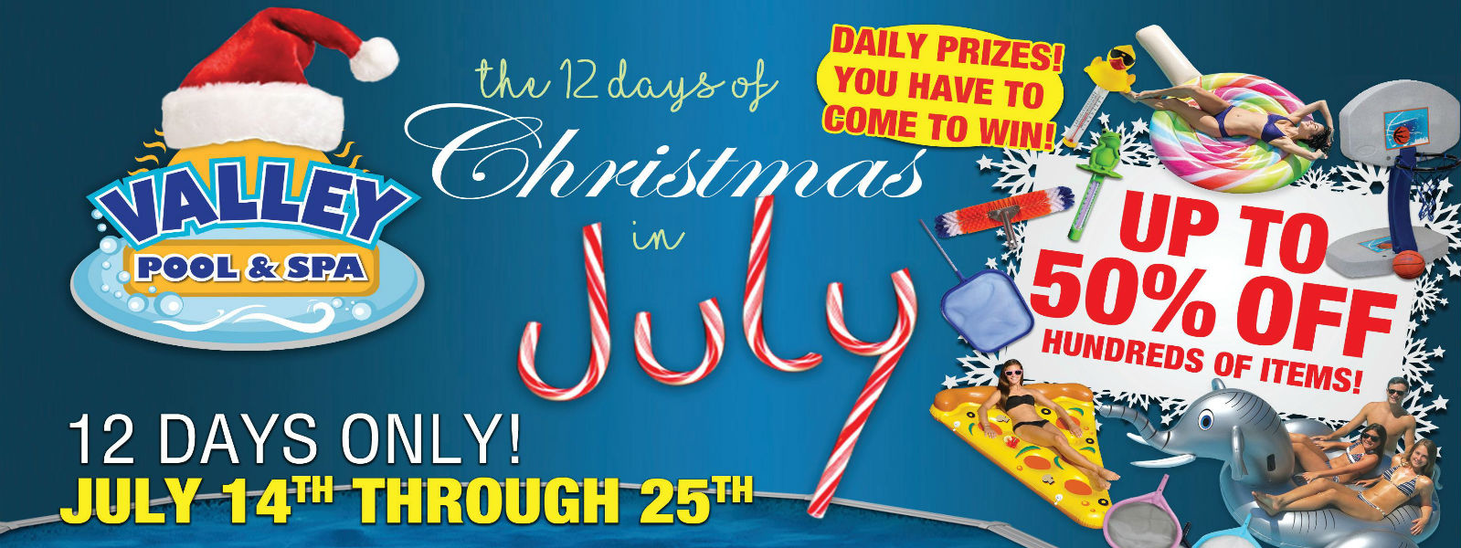 Our Annual 12 Days Of Christmas In July Huge Sales Event